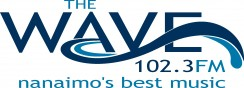 102.3 FM The Wave Logo