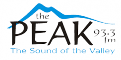 93.3 The Peak Logo