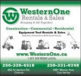 Western One Rental and Sales Logo