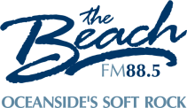 88.5 The Beach Logo