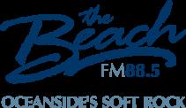 88.5 The Beach Logo