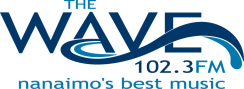 102.3 The Wave FM Logo