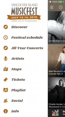 Get our Free App ~ Vancouver Island MusicFest 2019 –